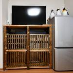 テレビボード改良(2)
