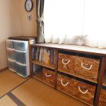 和室用・収納棚の改良